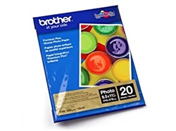 "Brother BP71GLTR Premium Plus Glossy Photo Paper 8.5"" x 11"" - 20 sheets"