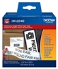 "Brother DK2246 Continuous Black on White Paper Tape 4.07""x 100' (103mm x 30.4m)"