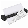 Brother LB3854 Premium Fast Dry Writeable/Fingerprintable Continuous Fanfold Letter Size Stacks w/End of Stack Red Stripe - 7 Year Archiveability - 32 Individually Wrapped Stacks of 50 Sheets For use in Fanfold Case (Special Order NO RETURN)