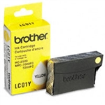 Brother LC01Y ( LC-01Y ) OEM Yellow Inkjet Cartridge