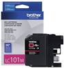Brother LC101M ( LC-101M ) OEM Magenta Inkjet Cartridge