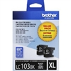Brother LC1032PKS ( LC-1032PKS ) OEM Black High Yield Inkjet Cartridge (Dual Pack)
