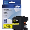Brother LC103Y ( LC-103Y ) OEM Yellow High Yield Inkjet Cartridge