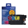 Brother LC1053PKS ( LC-1053PKS ) OEM High Yield Colour Inkjet Cartridges, Combo Pack