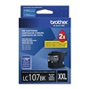 Brother LC107BK ( LC-107BK ) OEM Black High Yield Inkjet Cartridge