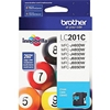 Brother LC201C ( LC-201C ) OEM Cyan Inkjet Cartridge