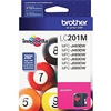 Brother LC201M ( LC-201M ) OEM Magenta Inkjet Cartridge