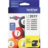 Brother LC201Y ( LC-201Y ) OEM Yellow Inkjet Cartridge