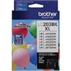 Brother LC2033PKS ( LC-2033PKS ) OEM High Yield Colour Inkjet Cartridges, Combo Pack