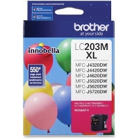 Brother LC203M ( LC-203M ) OEM Magenta High Yield Inkjet Cartridge