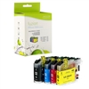 Brother LC203BK / LC203C / LC203M / LC203Y Compatible InkJet Cartridge Pack