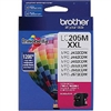 Brother LC205M ( LC-205M ) OEM Magenta High Yield Inkjet Cartridge