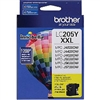Brother LC205Y ( LC-205Y ) OEM Yellow High Yield Inkjet Cartridge