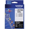 Brother LC2072PKS ( Brother LC-2072PKS ) OEM Black Extra High Yield Inkjet Cartridge (Dual Pack)