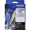 Brother LC209BK ( LC-209BK ) OEM Black Ultra High Yield Inkjet Cartridge