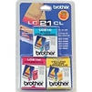 Brother LC21CL3PKS ( LC-21CL3PKS ) OEM Colour Combo Pack (Cyan, Magenta and Yellow)