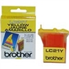 Brother LC21Y ( LC-21Y ) OEM Yellow Inkjet Cartridge