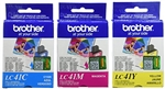 Brother LC41CL3PKS ( LC-41CL3PKS ) OEM Colour Combo Pack (includes Cyan, Magenta and Yellow)
