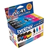 Brother LC414PKS ( LC-414PKS ) OEM Combo Pack (includes Black, Cyan, Magenta and Yellow)