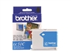 Brother LC51C ( LC-51C ) OEM Cyan Ink Cartridge