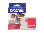Brother LC51M ( LC-51M ) OEM Magenta Ink Cartridge