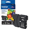 Brother LC61BK ( LC-61BK ) OEM Black Ink Cartridge