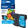 Brother LC61C ( LC-61C ) OEM Cyan Ink Cartridge