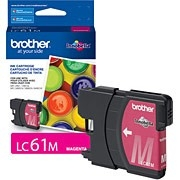 Brother LC61M ( LC-61M ) OEM Magenta Ink Cartridge