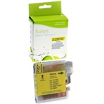 Brother LC61Y ( LC-61Y ) Compatible Yellow Ink Cartridge