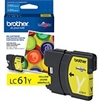 Brother LC61Y ( LC-61Y ) OEM Yellow Ink Cartridge