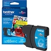 Brother LC65HYC ( LC-65HYC ) OEM Cyan High Capacity InkJet Cartridge
