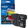 Brother LC65HYBK ( LC-65HYBK ) OEM Black High Capacity InkJet Cartridge