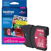 Brother LC65M ( LC-65M ) OEM Magenta High Capacity InkJet Cartridge