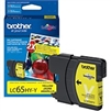 Brother LC65HYY ( LC-65HYY ) OEM Yellow High Capacity InkJet Cartridge