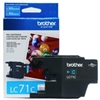 Brother LC71C ( LC-71C ) OEM Cyan InkJet Cartridge