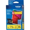Brother LC79Y ( LC-79Y ) OEM Yellow InkJet Cartridge