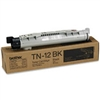 Brother TN12BK ( TN-12BK ) OEM Black Toner Cartridge