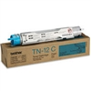 Brother TN12C ( TN-12C ) OEM Cyan Toner Cartridge