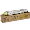 Brother TN12Y ( TN-12Y ) OEM Yellow Toner Cartridge