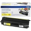 Brother TN331Y ( TN-331Y ) OEM Yellow Laser Toner Cartridge