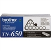 Brother TN650 ( TN-650 ) OEM Black High Yield Laser Toner Cartridge