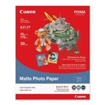 "Canon Photo Paper (Matte) for Inkjet MP101 8.5"" x 11"" - 50 Sheets - 7981A004"