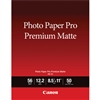 "Canon Photo Paper Pro Premium Matte PM-101 8.5"" x 11"" - 50 Sheets - 8657B004"
