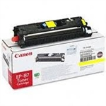 Canon EP87 ( EP-87 ) ( 7430A005AA ) ( CRG-701Y ) OEM Yellow Laser Toner Cartridge