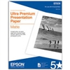 "Epson Ultra Premium Presentation Paper for Inkjet 8.5"" x 11"" (Letter) - 50 sheets - S041341"