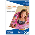 "Epson Glossy Photo Paper Borderless for Inkjet 4"" x 6"" (A6) - 50 Sheets - S041809"