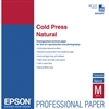 "Epson Cold Press Natural Textured Matte Paper 8.5"" x 11"" - 25 Sheets - S042297"