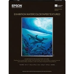 "Epson Exhibition Watercolor Paper Textured 8.5"" x 11"" - 25 Sheets - S045486"