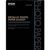 "Epson Metallic Photo Paper Glossy 8.5"" x 11"" - 25 Sheets - S045589"