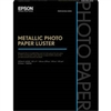 "Epson Metallic Photo Paper Luster 8.5"" x 11"" - 25 Sheets - S045596"
